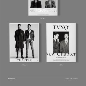 [INFO+PIC] TVXQ! – 8ème album 'NEW CHAPTER #1 : THE CHANCE OF LOVE' → détails