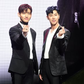 [PIC+VID] 180328 TVXQ! – Conférence de presse pour 'New Chapter #1 : The Chance of Love' (partie 2)