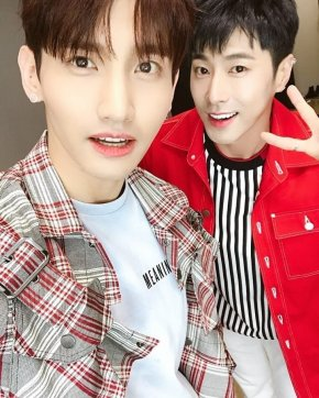 [PIC+VID] 180331 Instagram et Twitter de TVXQ! (performances de 'Love Line' + 'The Chance Of Love')