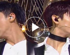 [VID] 180401 TVXQ! – Performance de '운명(The Chance of Love)' (Inkigayo – fancamver.)