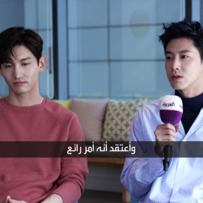 [VID] 180402 TVXQ! – Interview exclusive avec 'Sabah AlArabiya'
