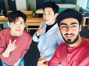[PIC] 180403 TVXQ! sur l'Instagram de 'sultan_suleiman_kh'